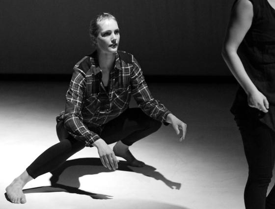 Talentvolle choreografen en dansers Open Stage 2, NDC/NDS 23 maart 2014. Foto: Alexander van der Linden